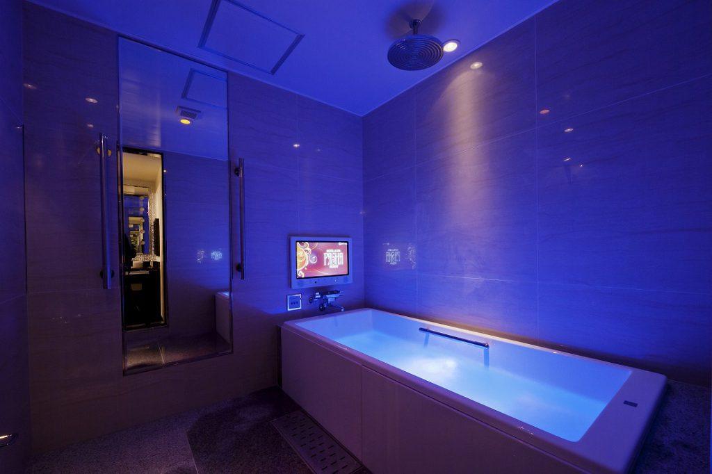 ホテルパシャリゾートの浴室