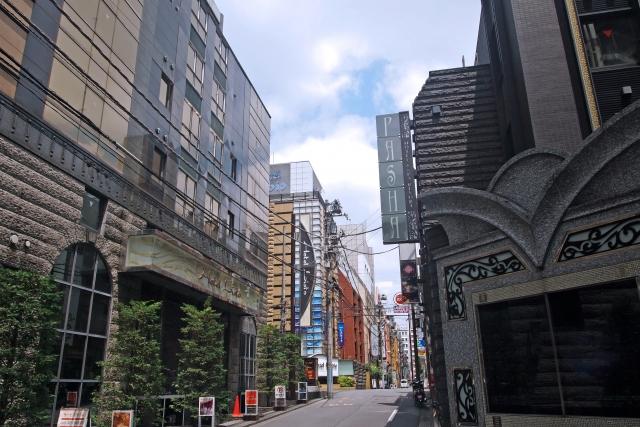新宿・歌舞伎町ラブホ街